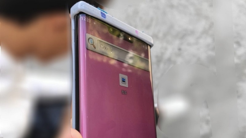 Huawei Mate 30 Pro lộ ảnh thực tế trước đó