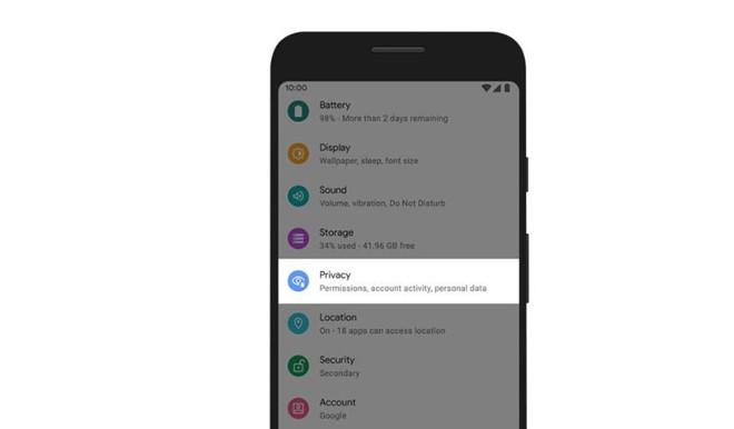 tinh nang android 10
