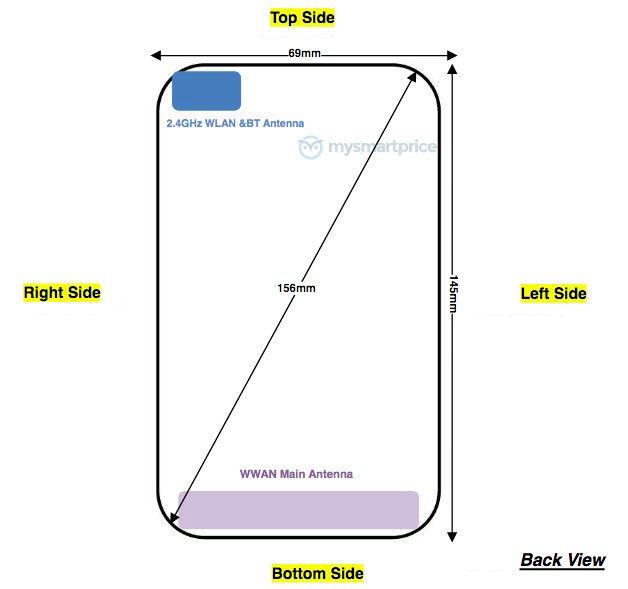 Kích thước Motorola XT2029-1