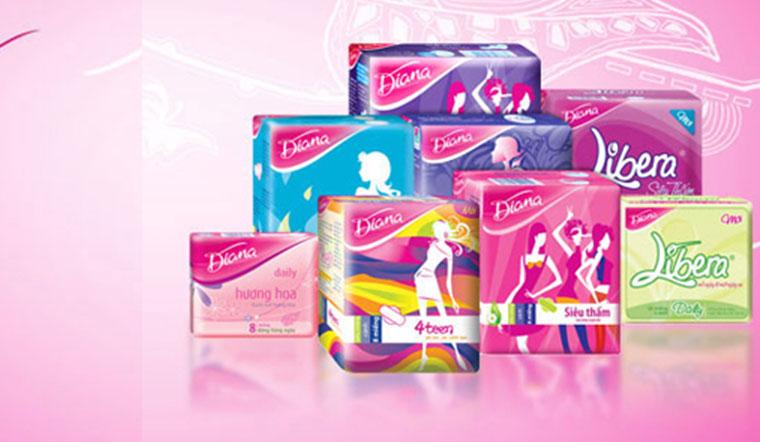 Tìm hiểu các loại băng vệ sinh Diana và ưu điểm của từng loại