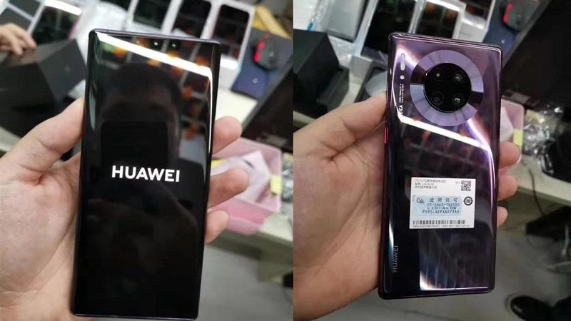 Huawei Mate 30 Pro Purple lộ ảnh trên tay ngoài đời thực