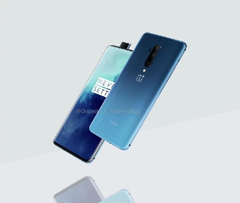 OnePlus 7T Pro lộ diện phiên bản màu Haze Blue - ảnh 2