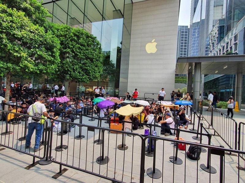 Người Việt đua nhau mang iPhone 11 về Việt Nam - ảnh 7