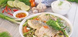 Cách làm món cá chép om dưa đậm đà đưa cơm ngày mưa