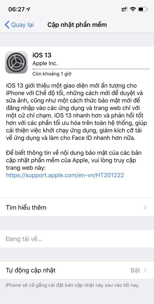 Apple tung bản cập nhật iOS 13 chính thức cho iPhone, tải về ngay nào