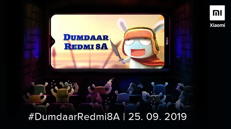 Xiaomi Redmi 8A pin 5.000 mAh sẽ ra mắt vào ngày 25/9