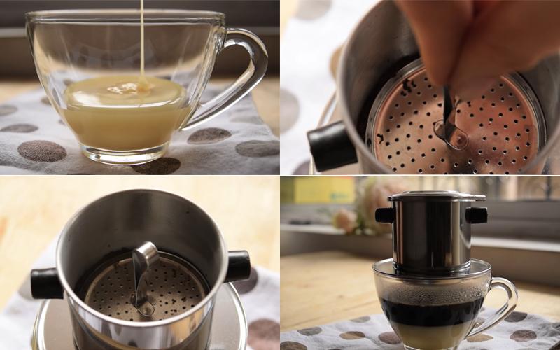 Cách pha cà phê sữa chuẩn công thức tại nhà ngon hơn hàng quán