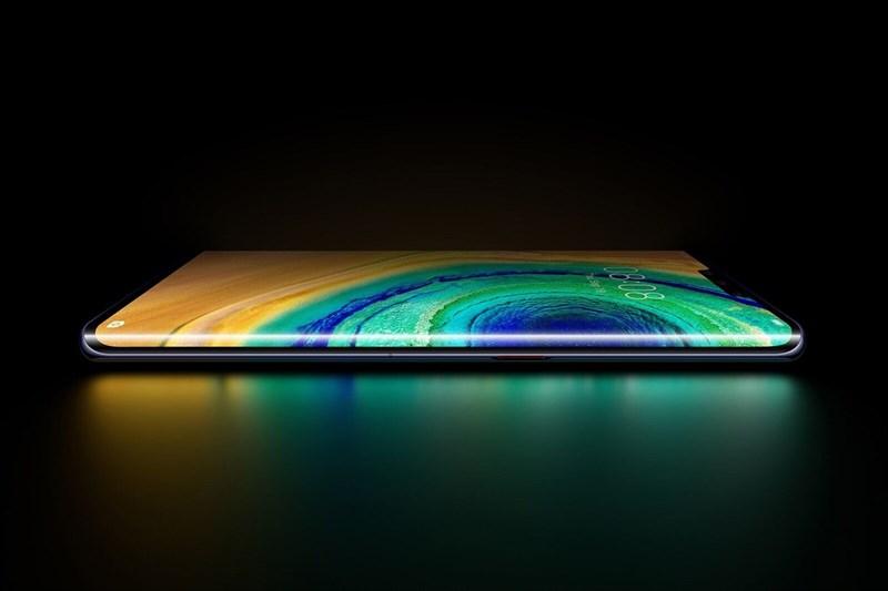 Huawei Mate 30 Pro có màn hình chân trời