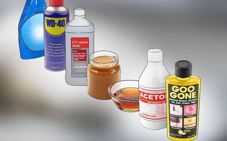 Chọn chất tẩy keo dính