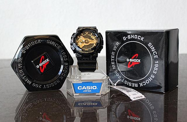 Bao bì hộp đồng hồ G-Shock thật