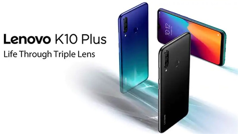 Lenovo K10 Plus ra mắt: Chip Snapdragon 632, 3 camera sau