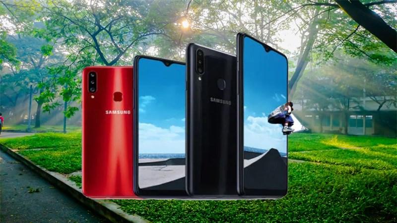 Galaxy A20s ra mắt: Màn hình 6.5 inch, 3 camera sau