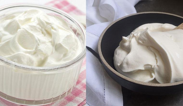 Topping cream là gì, khác gì với whipping cream