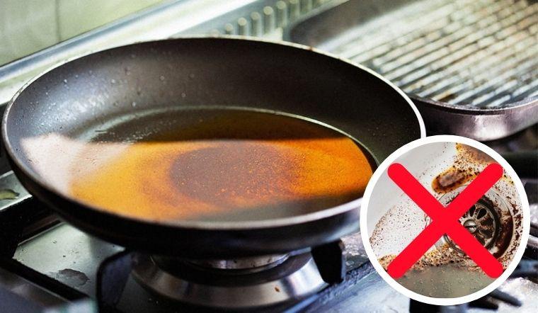 Tổng hợp 5 cách xử lý dầu ăn thừa đơn giản, không gây nghẹt cống