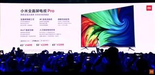 Xiaomi ra mắt tivi Mi Pro mới, 43 inch 4K mà chưa đến 5 triệu đồng
