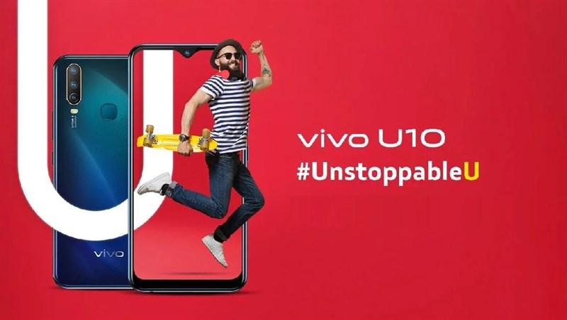 Vivo U10 3 camera sau, chip Snapdragon 665 ra mắt với giá chỉ 3 triệu