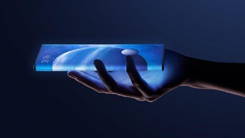 Hình ảnh chiếc điện thoại Xiaomi Mi MIX Alpha