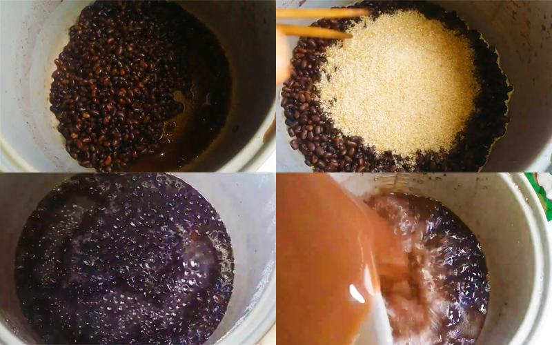 Cách nấu chè đậu đen bằng nồi cơm điện, đậu mềm nhừ thơm ngon