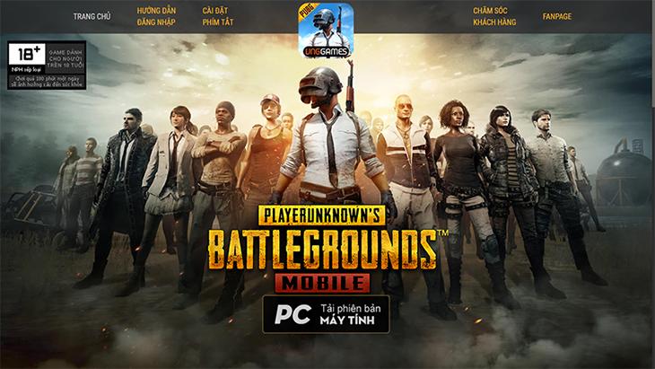 Pubg Mobile Tencent Tiếng Việt trên PC