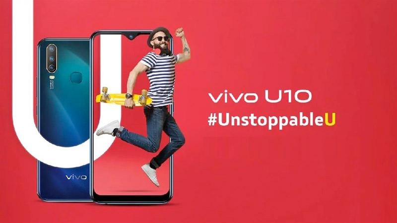 Vivo U10 ស៊េរី 2019
