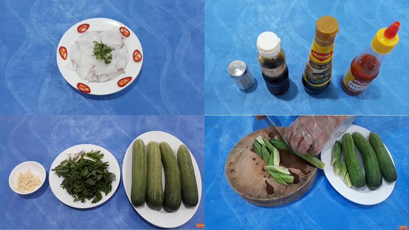 Cách làm mực xào dưa leo giòn ngon, chuẩn cơm mẹ nấu