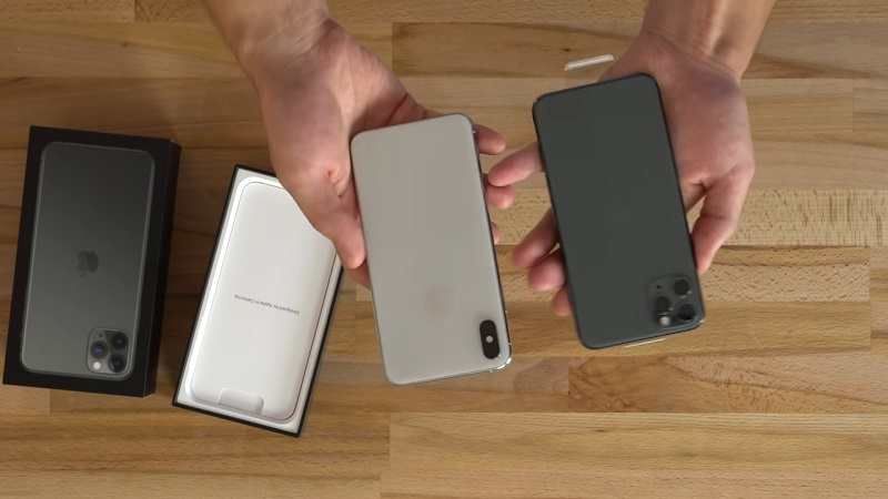 iPhone Xs Max với iPhone 11 Pro Max