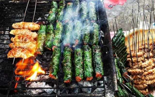 Bước 3 Nướng thịt trâu Thịt trâu nướng
