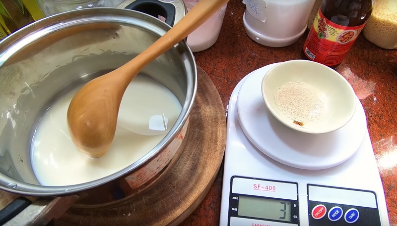 Kích hoạt men làm bánh bao