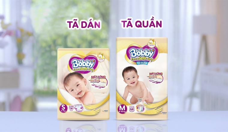 Giới thiệu sản phẩm tã cao cấp Bobby Extra Soft Dry