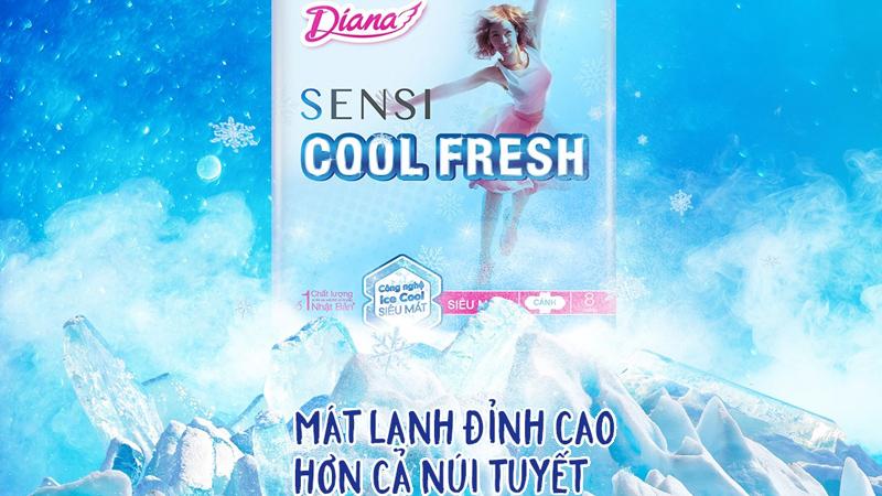 Băng vệ sinh Diana Sensi Cool Fresh có tốt không?