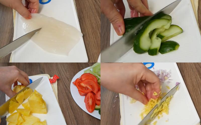 Cách làm mực xào chua ngọt hấp dẫn, nhìn là thèm ăn là mê
