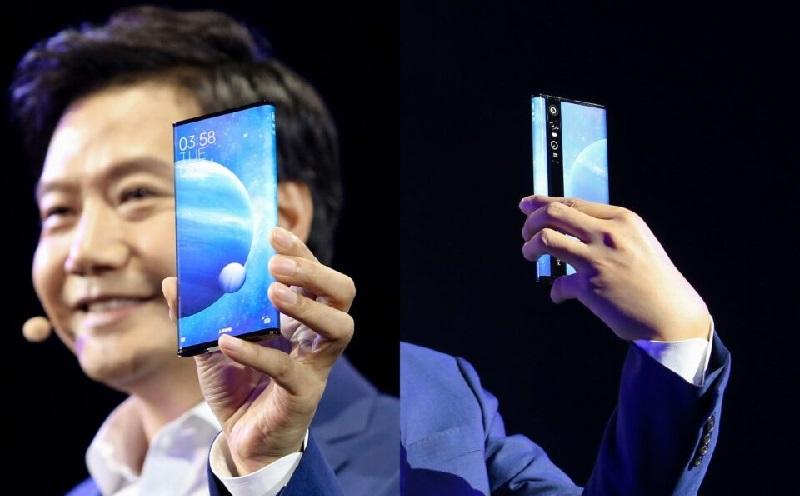 Chiếc điện thoại Xiaomi Mi MIX Alpha trên tay giám đốc Xiaomi - Lei Jun