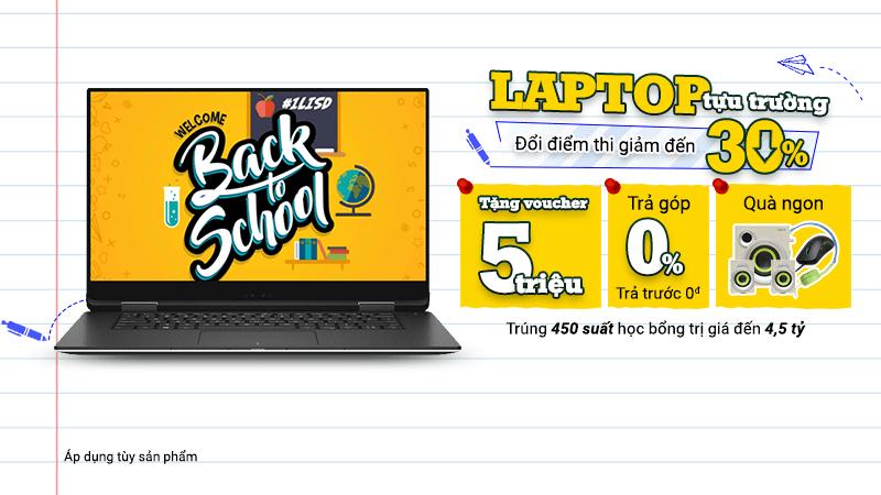 Khuyến mãi laptop tháng 10