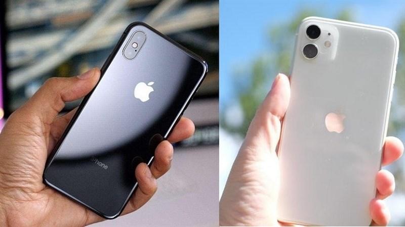 iPhone X với iPhone 11