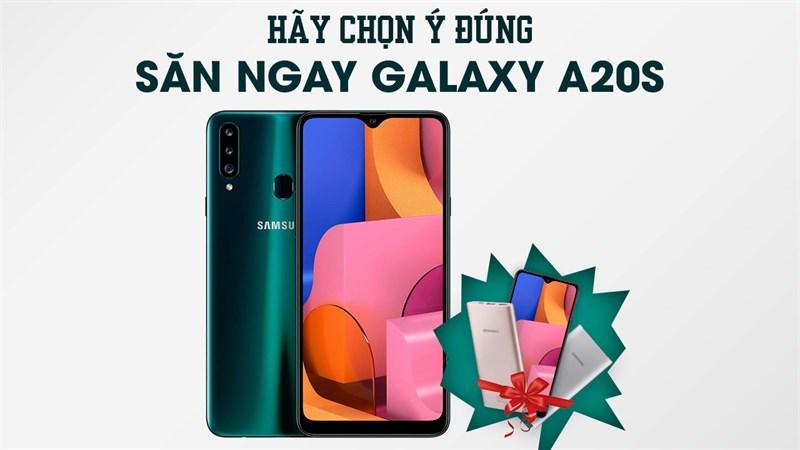 Tham gia game trúng Galaxy A20s miễn phí