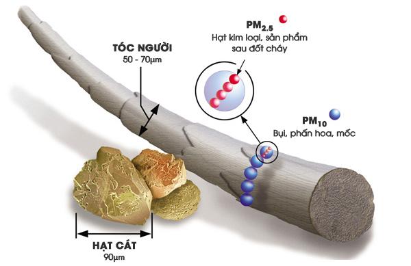 Bụi mịn PM2,5 là gì?