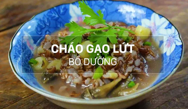 Cách nấu cháo gạo lứt thơm ngon, bổ dưỡng cho cả nhà