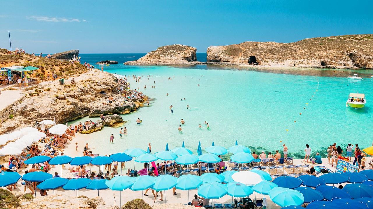Malta là thành phố của du lịch biển