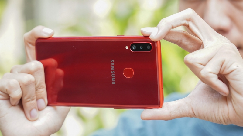 Galaxy A20s ra mắt: Giá dưới 5 triệu mà có tới 3 camera sau, hỗ trợ sạc nhanh