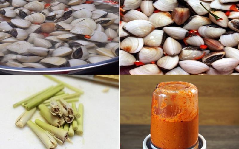 Cách làm nghêu xào sa tế thơm nồng, cay cay ăn cơm hết sẩy