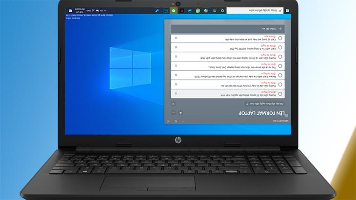 laptop bị xoay màn hình