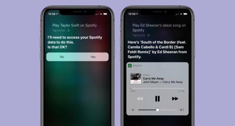 Spotify hỗ trợ Siri