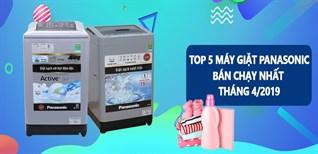 Top 5 máy giặt Panasonic bán chạy nhất Điện máy XANH tháng 9/2019