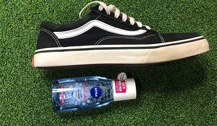 Mẹo tẩy trắng đế giày với loại mỹ phẩm mà bạn gái nào cũng có