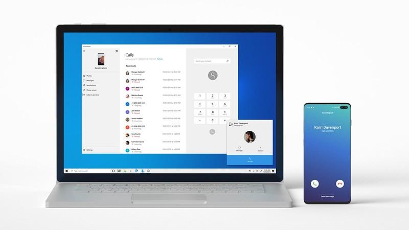điều hướng cuộc gọi điện thoại Android trên PC Windows 10