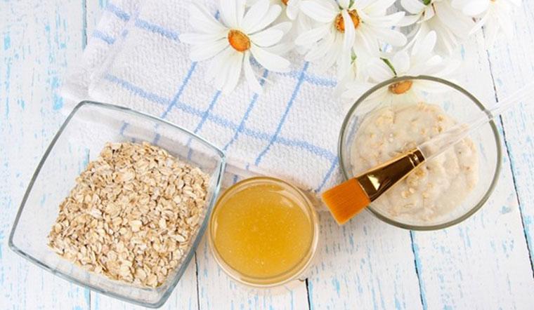 Công thức làm mặt nạ bột yến mạch mật ong dưỡng da trắng mịn