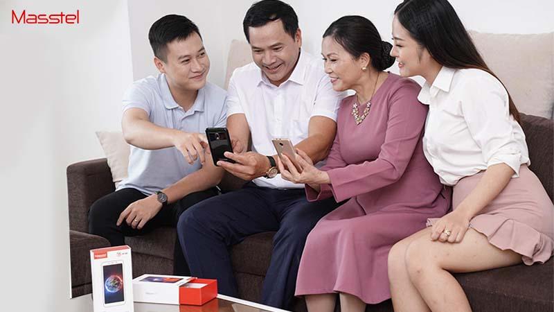 Điện thoại Masstel mở bán
