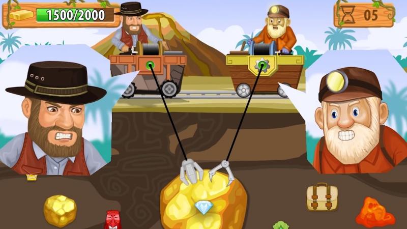 Hình ảnh trong game Gold Miner Vegas