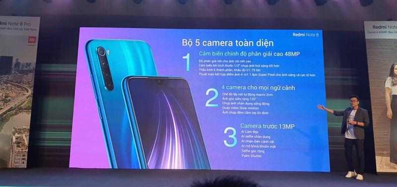 """Bộ 3 smartphone """"ngon bổ rẻ"""" Redmi 8, Redmi Note 8 và Redmi Note 8 Pro ra mắt tại Việt Nam - ảnh 2"""