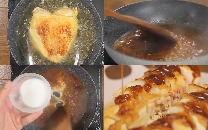 Cách làm ức gà chiên nước mắm, cay cay mặn mặn siêu ngong